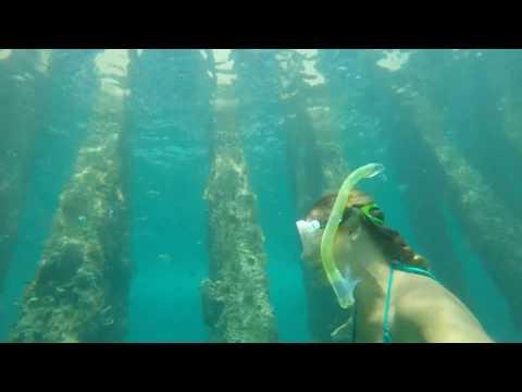 Freediving Cato's Bridge Jupiter, Florida - GoPro Hero 4