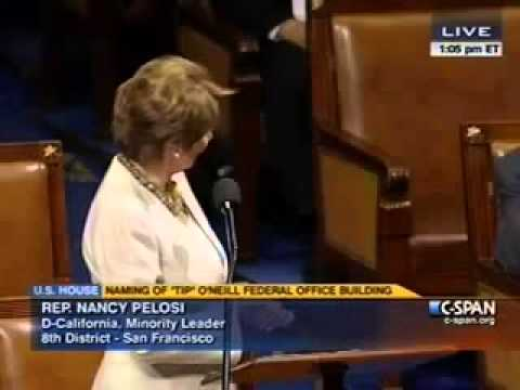 Nancy Pelosi Praises Tip O