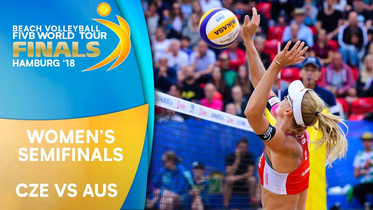 Women's Semifinal: CZE vs. AUS | Beach Volleyball World Tour Finals Hamburg 2018