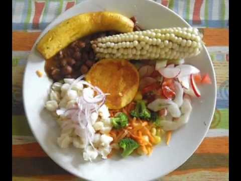 Comidas t picas del ecuador youtube for Comidas con d