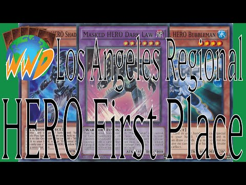 Yu-Gi-Oh! Decklist - Los Angeles Regional 2015 First Place HERO Deck