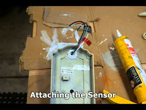 Add Universal Motion Detector to Outdoor Sconce