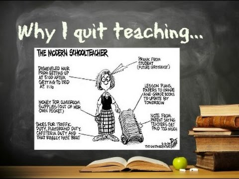 why i quit school I have been in your shoes and i'll share with you what happened when i quit my  teaching position at exactly this point in the school year almost ten years ago.