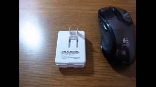 PLATA ( プラタ ) USB-AC アダプター 2ポート ( 合計 1000mA ) 仕様