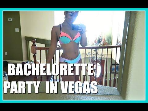 BACHELORETTE PARTY IN VEGAS // Vlog 3.10-3.13