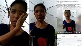Mengaku Stress, TKW Singapura Ini Disiksa Majikan dan Minta Bantuan di Jalanan, Videonya Viral