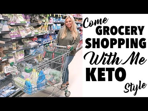 COME GROCERY SHOPPING WITH ME! KETO FOOD SHOPPING!