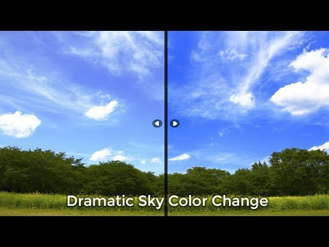Dramatic Sky Color Change | Photoshop Tutorial | Adobe Photoshop CC thumbnail
