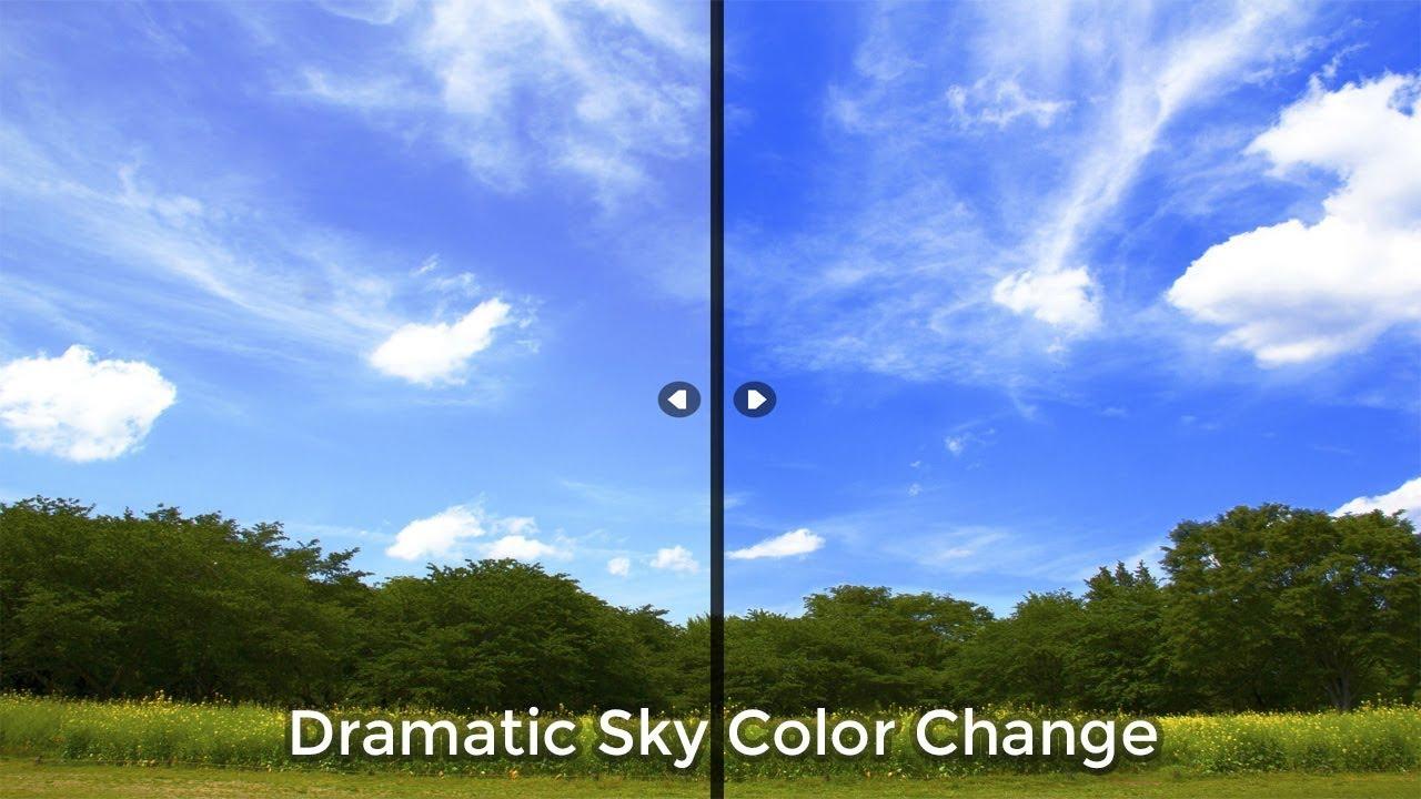 Dramatic Sky Color Change | Photoshop Tutorial | Adobe Photoshop CC
