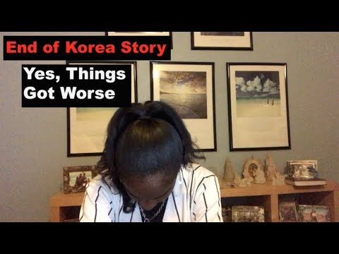 #Storytime: My Bad Experience in Korea Korea // 3rd & Final Part