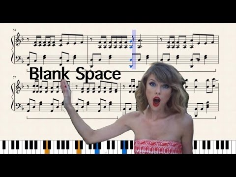 Taylor Swift - Blank Space - Remastered Piano Cover (Based on LittleTranscriber)