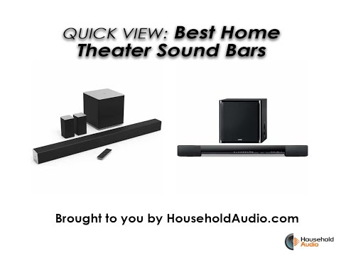 Best Sound Bar Speakers | Top Rated Theater Soundbars ...