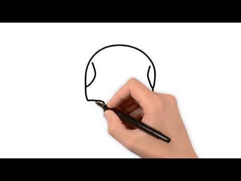 Как нарисовать череп на хэллоуин