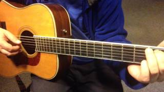 Easy Fingerstyle Songs For Beginners- Song 1 Lesson 9