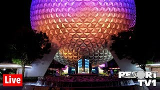 🔴Live: An Evening at Epcot in 1080p - Walt Disney World Live Stream - 4-20-19