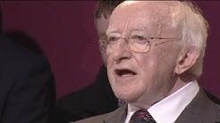 Neuer irischer Präsident hält erste Ansprache