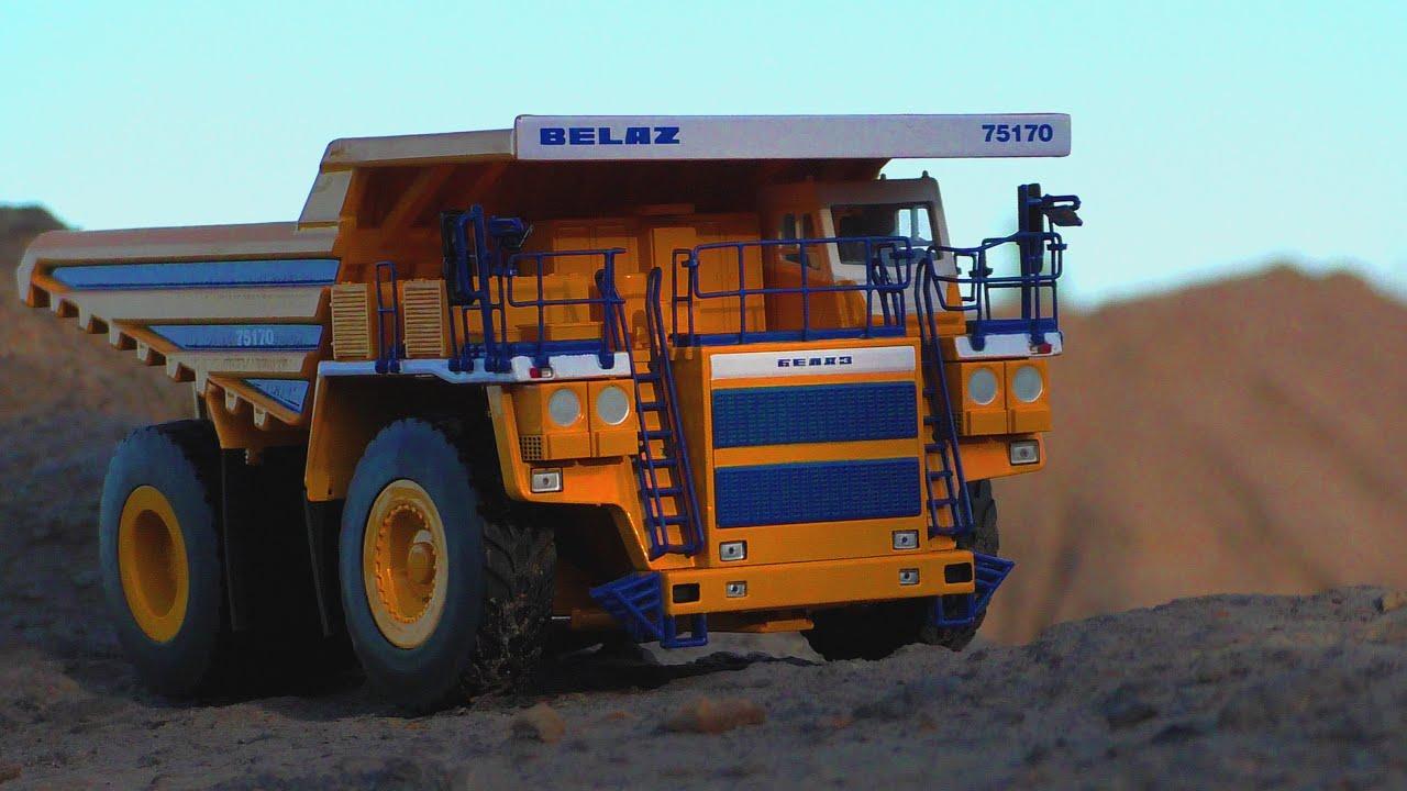 Обзор модели карьерного самосвала БЕЛАЗ 75170 в масштабе 1:50