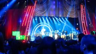 """Snippet of Public Enemy sampling """"Tom Sawyer"""" at the Rock and Roll Hall of Fame induction ceremony"""