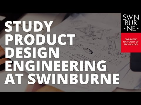 Study Product Design Engineering at Swinburne