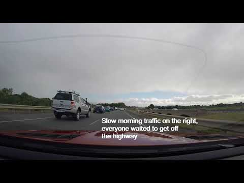 Bad Driver in Canberra ACT Australia HD 1 March 2018