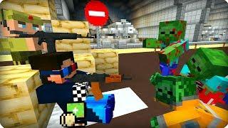 Чуть не попался [ЧАСТЬ 23] Зомби апокалипсис в майнкрафт! - (Minecraft - Сериал)