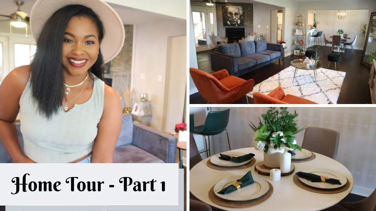 MY HOME TOUR PART 1 || BOHO CHIC VIBES || LIVINFEARLESS87