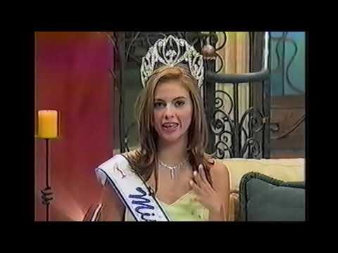 Lo mejor de Miss El Salvador 2004, canal 12, Gabriela Mejía