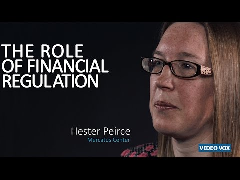 The role of financial regulation