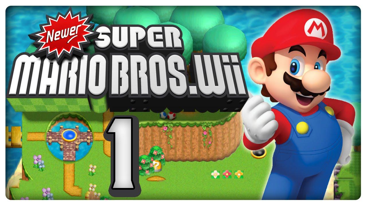 Let S Play Newer Super Mario Bros Wii Part 1 Der Perfekte New