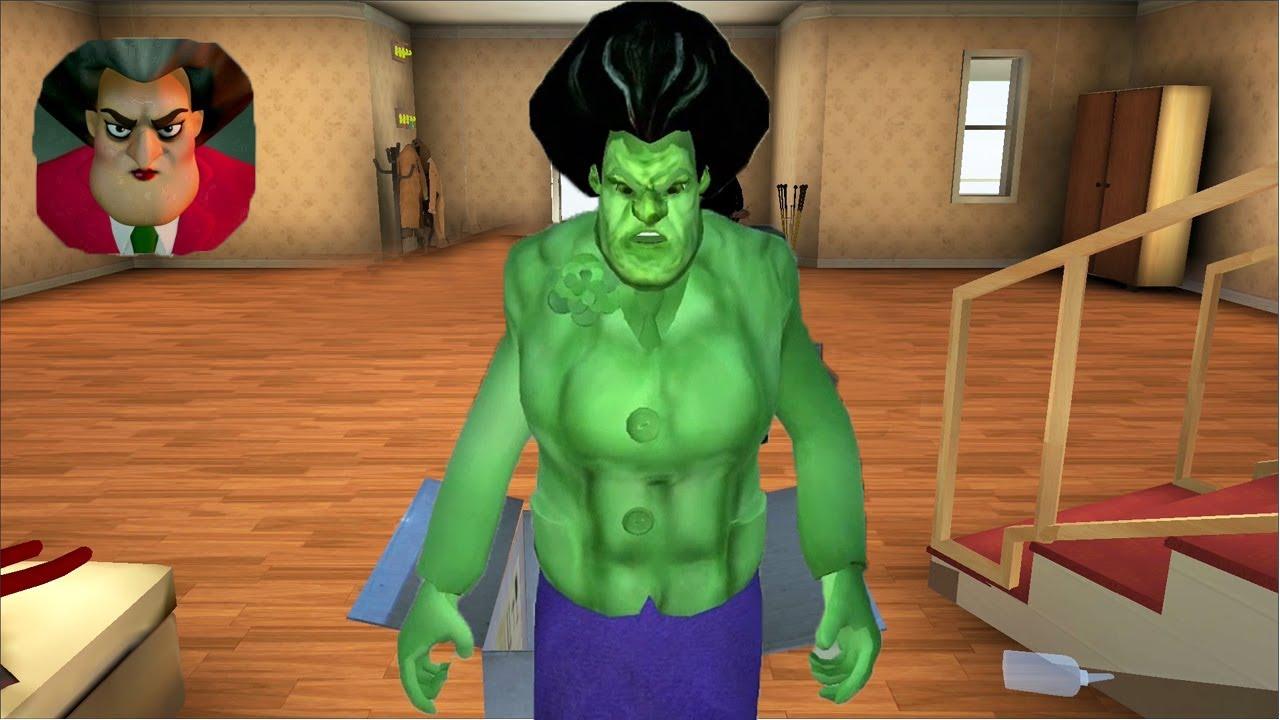 Download Scary Teacher 3D - Gameplay Walkthrough Part 10 - Chapter 4 New Teacher Hulk (Android IOS)