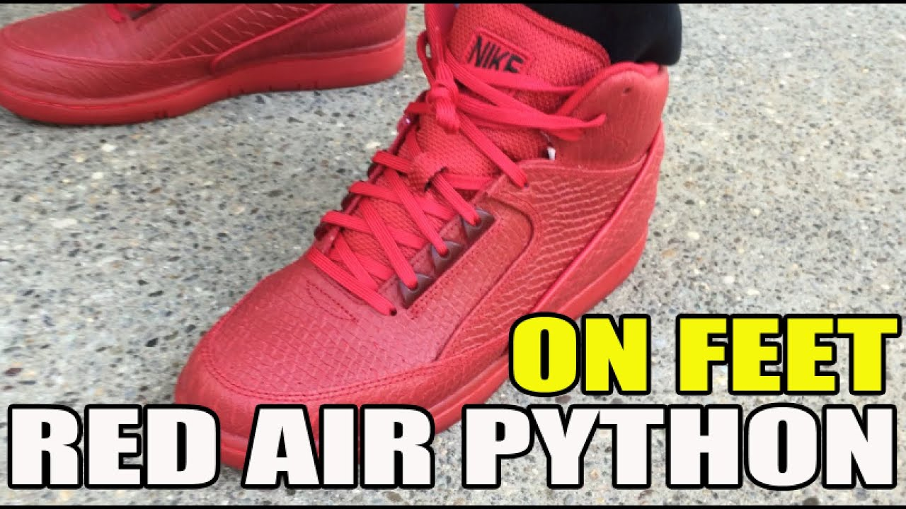 Gym Red Nike Air Python PRM Detailed Look On Feet - YouTube 55b2e8410