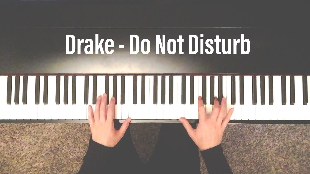 Drake - More Life - Do Not Disturb Cover - Instrumental - YouTube
