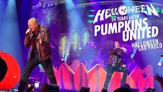 HELLOWEEN | HALLOWEEN | LIVE IN SAO PAULO | 29.10.2017 | PUMPKINS UNITED TOUR
