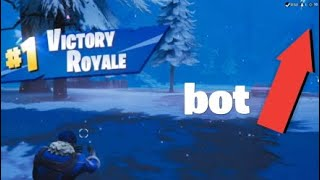 Played like a bot but still got 10 kills Fortnite Battle Royale