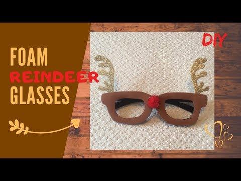 Last minute   Reindeer glasses   Funny gift idea