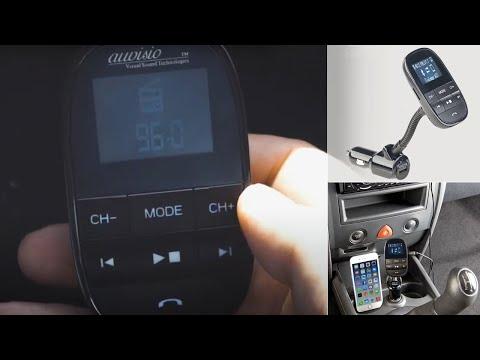 TRANSMETTEUR FM KIT MAINS LIBRES - la musique et vos appels en FM - [PEARLTV.FR]