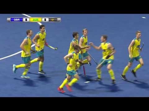 Great Britain v Australia Gold medal match Sultan of Johor Cup Hockey 2017