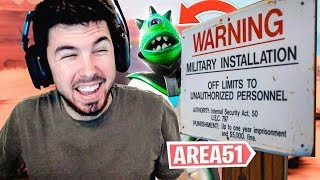 FORTNITE X AREA 51