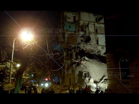 EGYPT || One person killed and at least nine people injured in Cairo's Building collapse