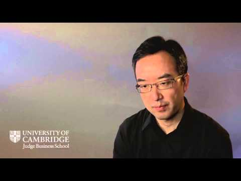 Brand building programme for Cambridge Judge Business School, with Dr Eden Yin