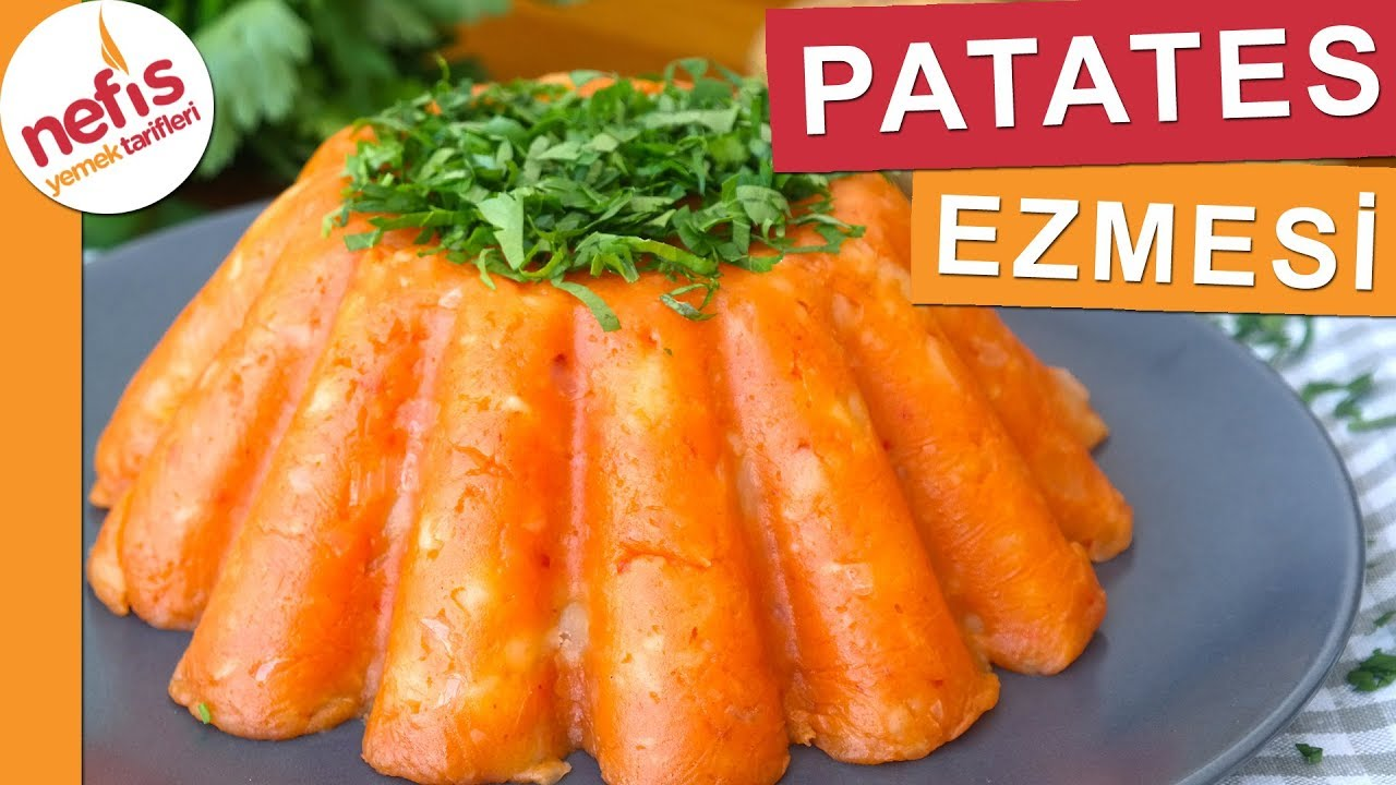 Patates Püresi Nasıl Yapılır – videolu tarifler – Yemek Tarifleri – vegan tarifleri