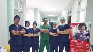 terimakasih Andina atas Review Operasi Gigi Bungsu semoga cepat sembuh, Juga segera menjadi Dokter G.