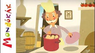 Kiugrott a gombóc | Gyerekdalok és mondókák, rajzfilm gyerekeknek