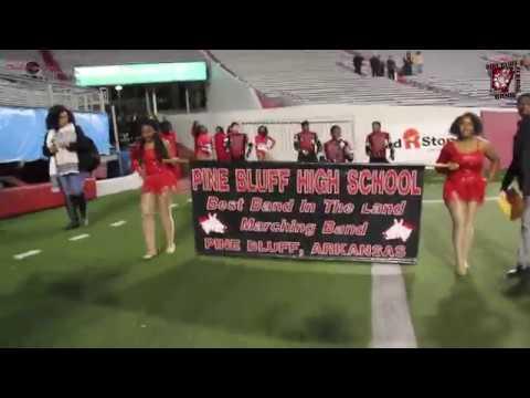 PINE BLUFF HIGH SCHOOL | STATE CHAMPIONSHIP ENTRANCE | 2017