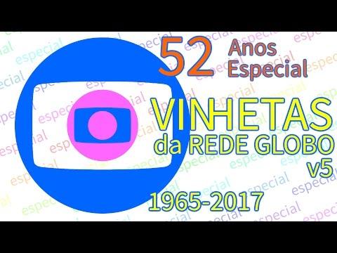 Vinhetas - Rede Globo (Versão 5)