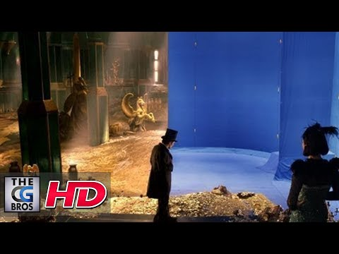"CGI VFX Breakdowns : ""Oz The Great and Powerful"" Treasure Room, by Sony Pictures Imageworks"
