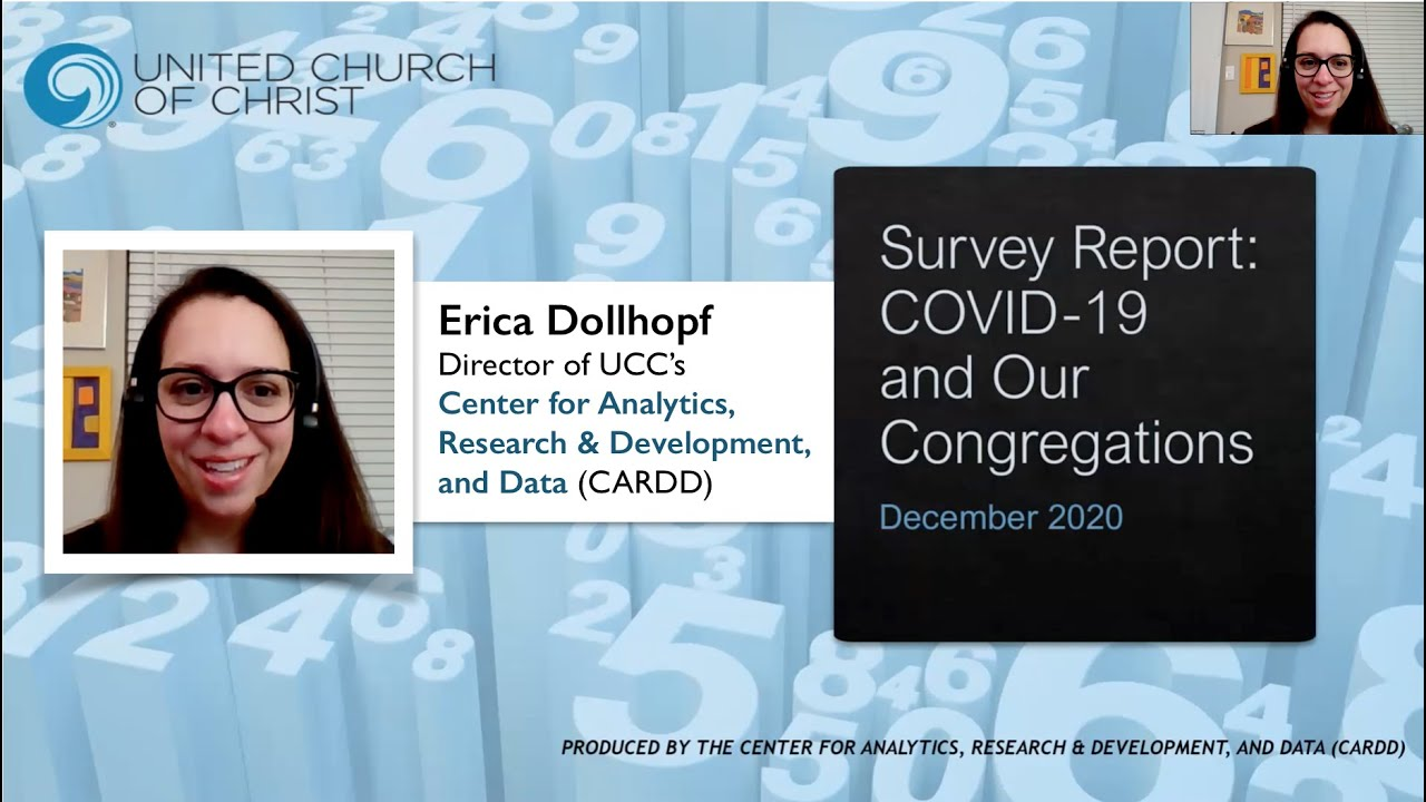 UCC 2020 Church Trends: COVID-19 and Our Congregations