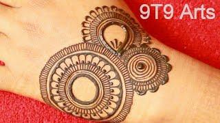 VERY BEAUTIFUL LATEST FLORAL ARABIC HENNA MEHNDI DESIGN FOR BACK HAND  DULHAN MEHNDI DESIGN 9T9 Arts
