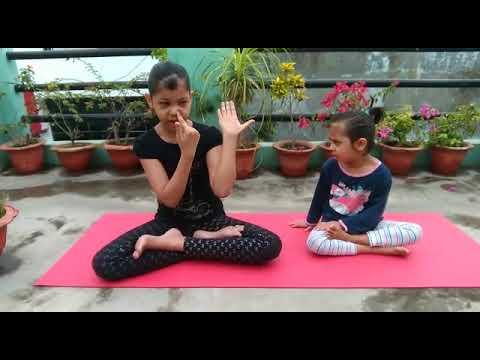 yoga with maanya anulom vilom  youtube
