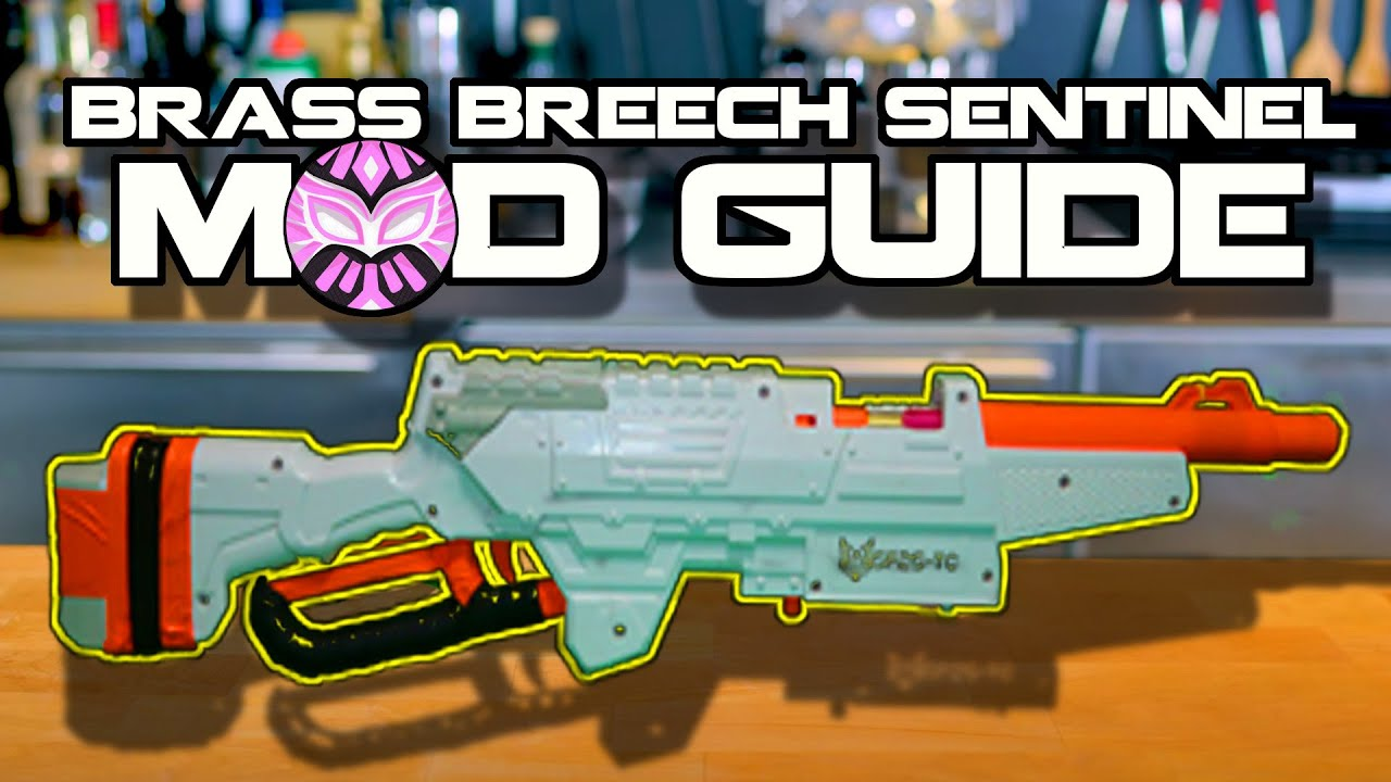 Easy Brass Breech, 200+ FPS Buzz Bee Sentinel Mod Guide!